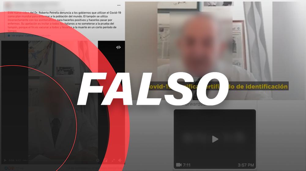 Es falso el vídeo que asegura que la COVID-19 es un pretexto para vacunarnos con inteligencia artificial y reducir la población en un 80%